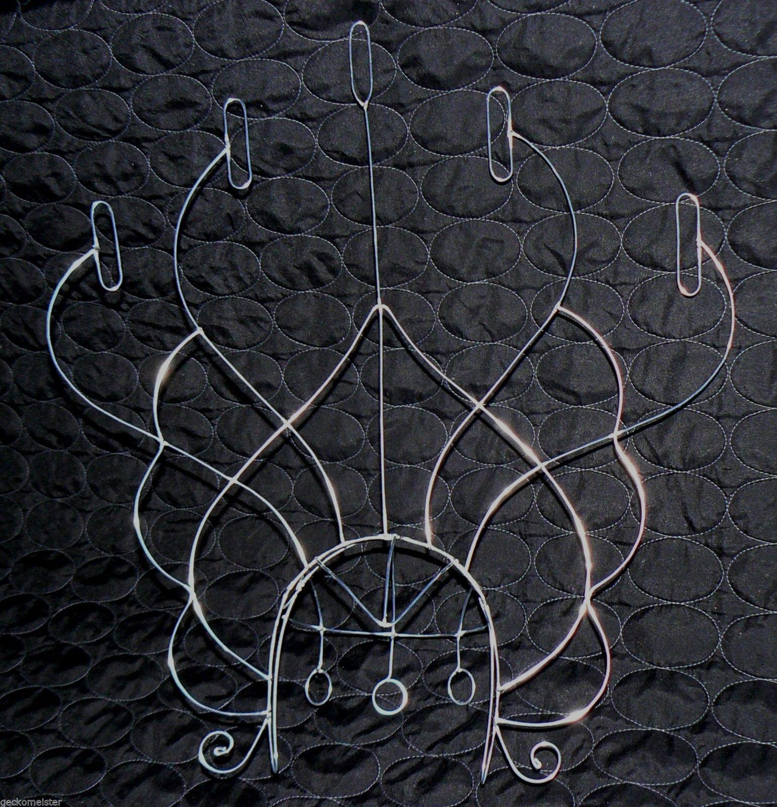 Samba Custom Headdress Wire Frame Design with 5 Fire Hooks Custom ...