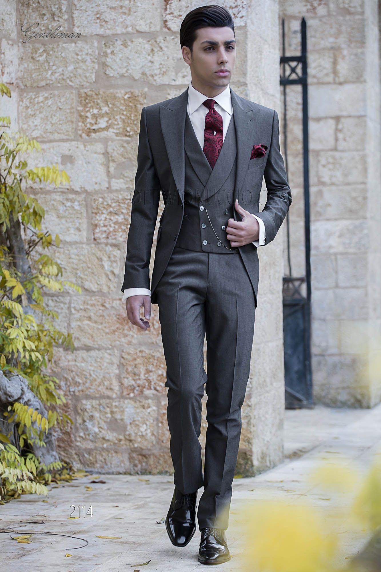 Vestiti Eleganti Uomo Grigio.Pin Su The Stylish Gentleman