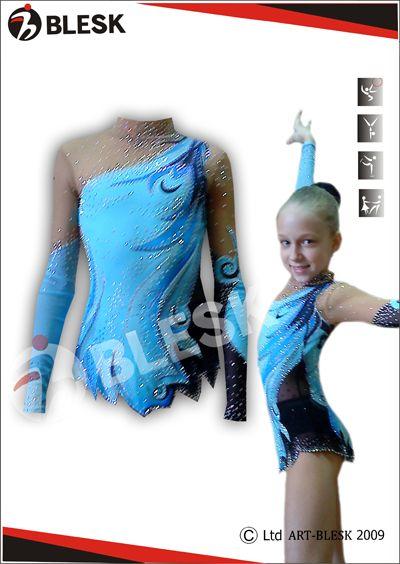 Leotards for Rhythmic Gymnastics    Art-studio «Blesk»  9540acc4739