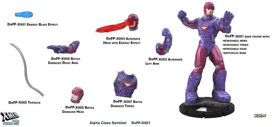 8 Boosters 1 Super Booster Heroclix Wolverine and Xmen Brick by WizKids