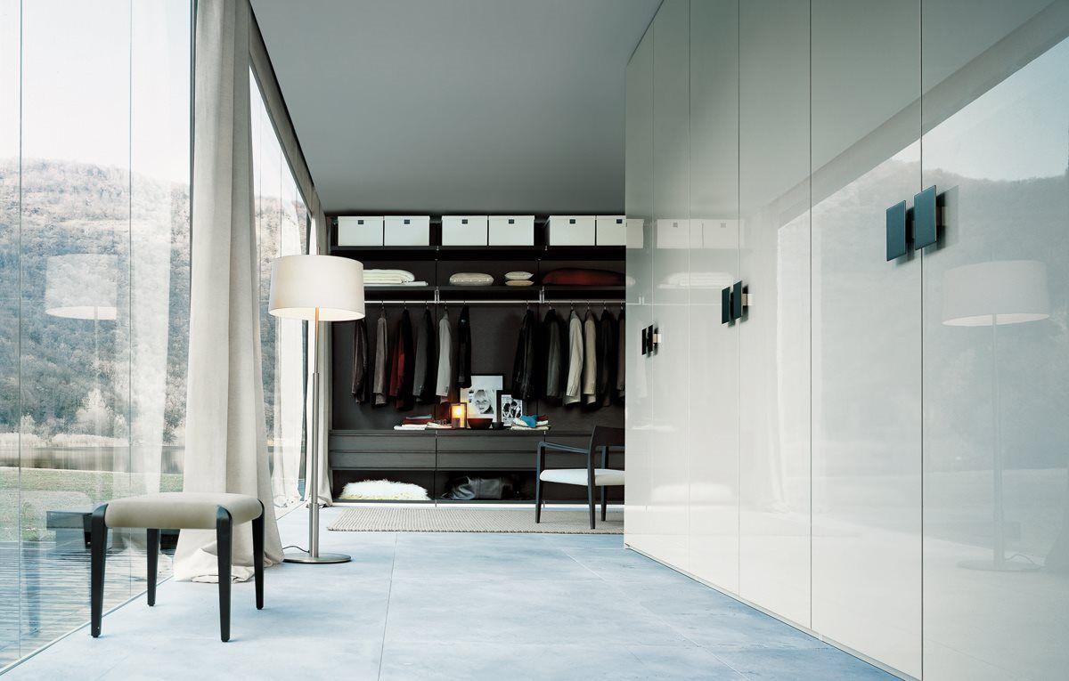 Bedroom design with dressing room - embodiments
