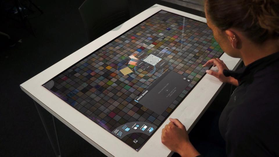 SCAD Sensorium: An Interactive Materials Library