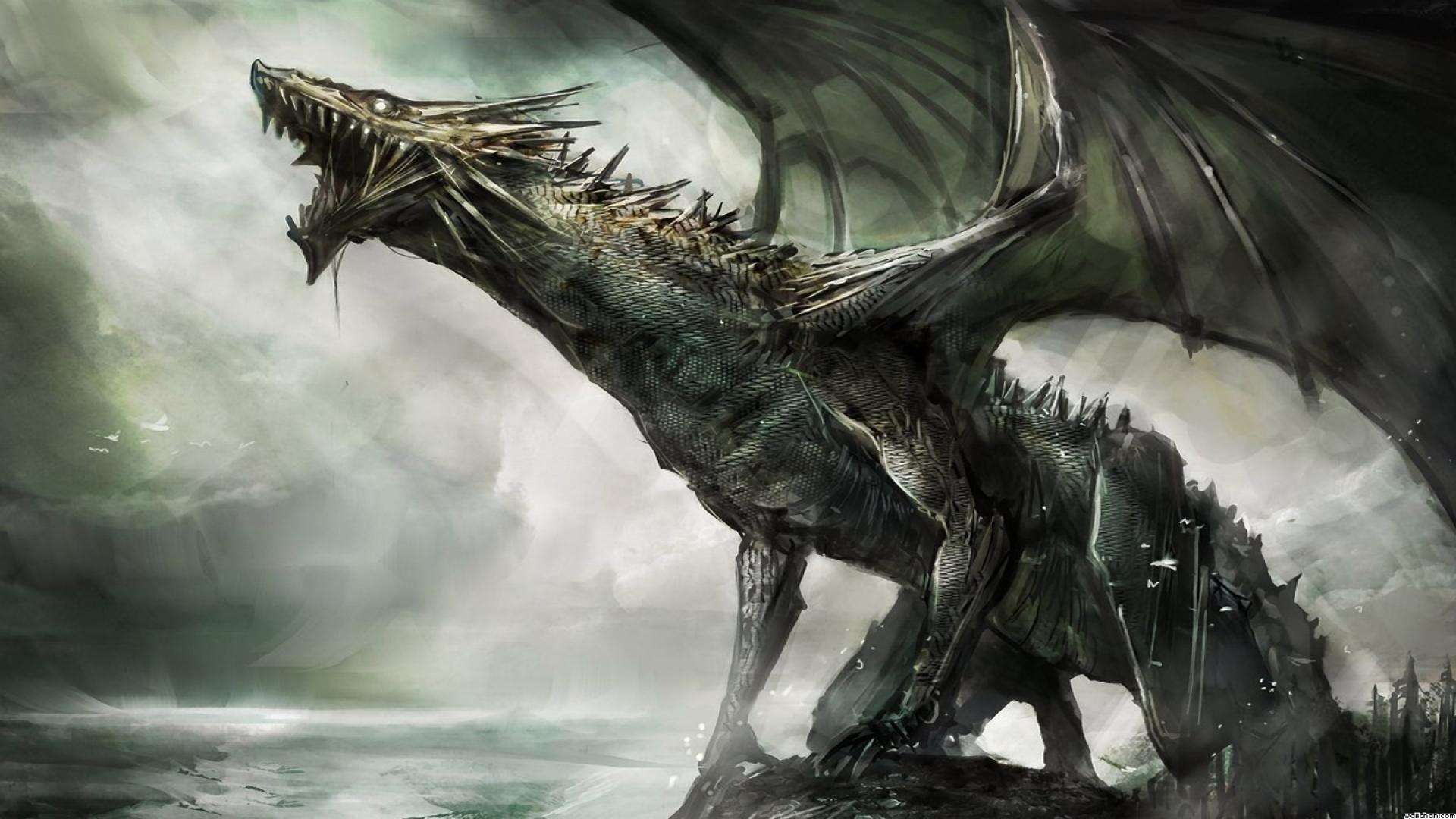 Fantasy Drachen Wallpaper | Drache | Pinterest | Drachen, Fantasy ...
