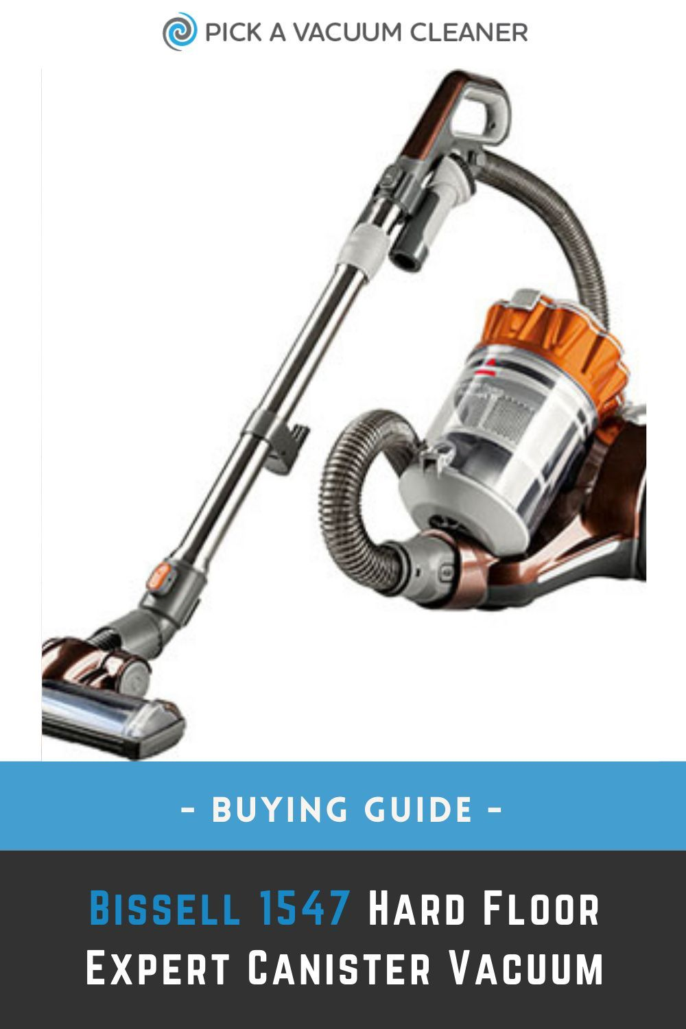 Bissell 1547 Hard Floor Expert Canister Vacuum in 2020