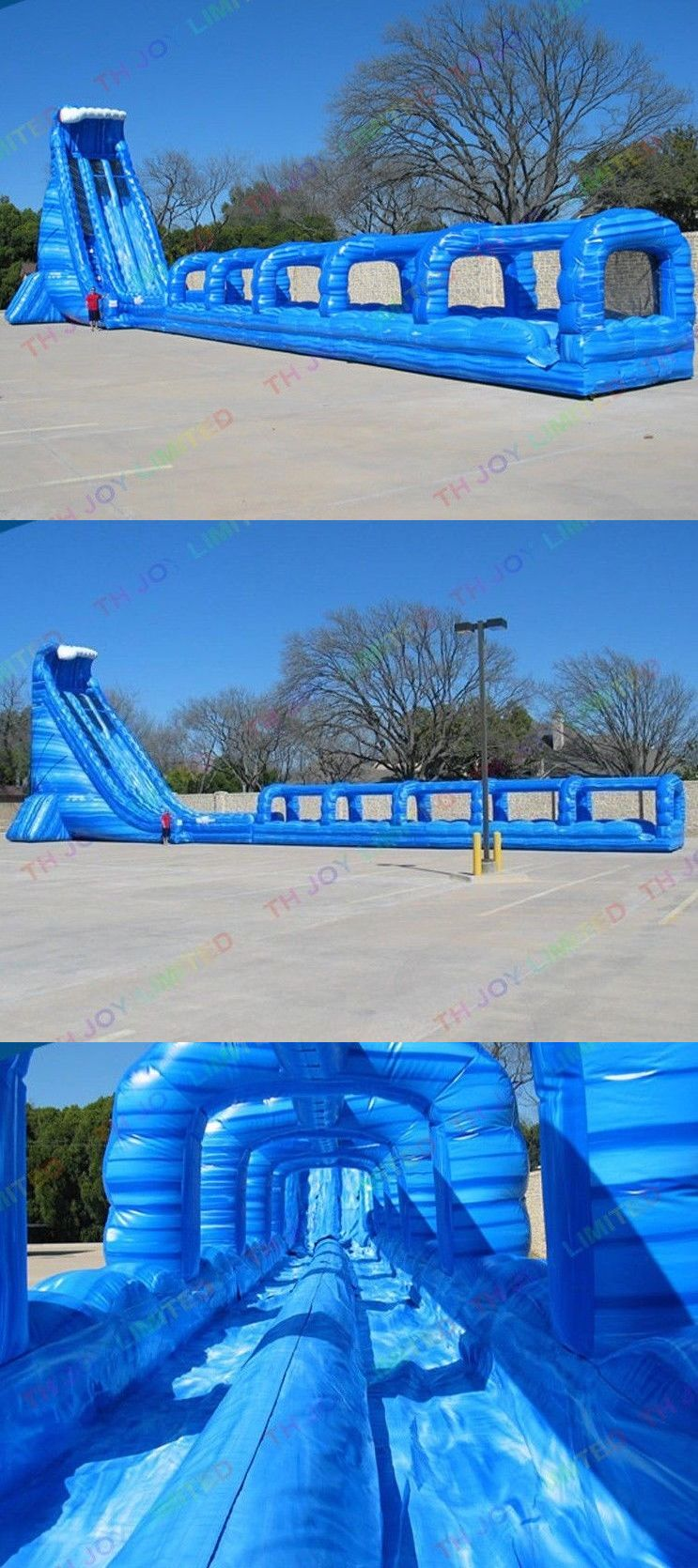 Water Slides 145992: Commercial Inflatable Water Slip N