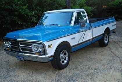 1972 Gmc Sierra Grande Gmc Trucks For Sale Old Trucks Antique