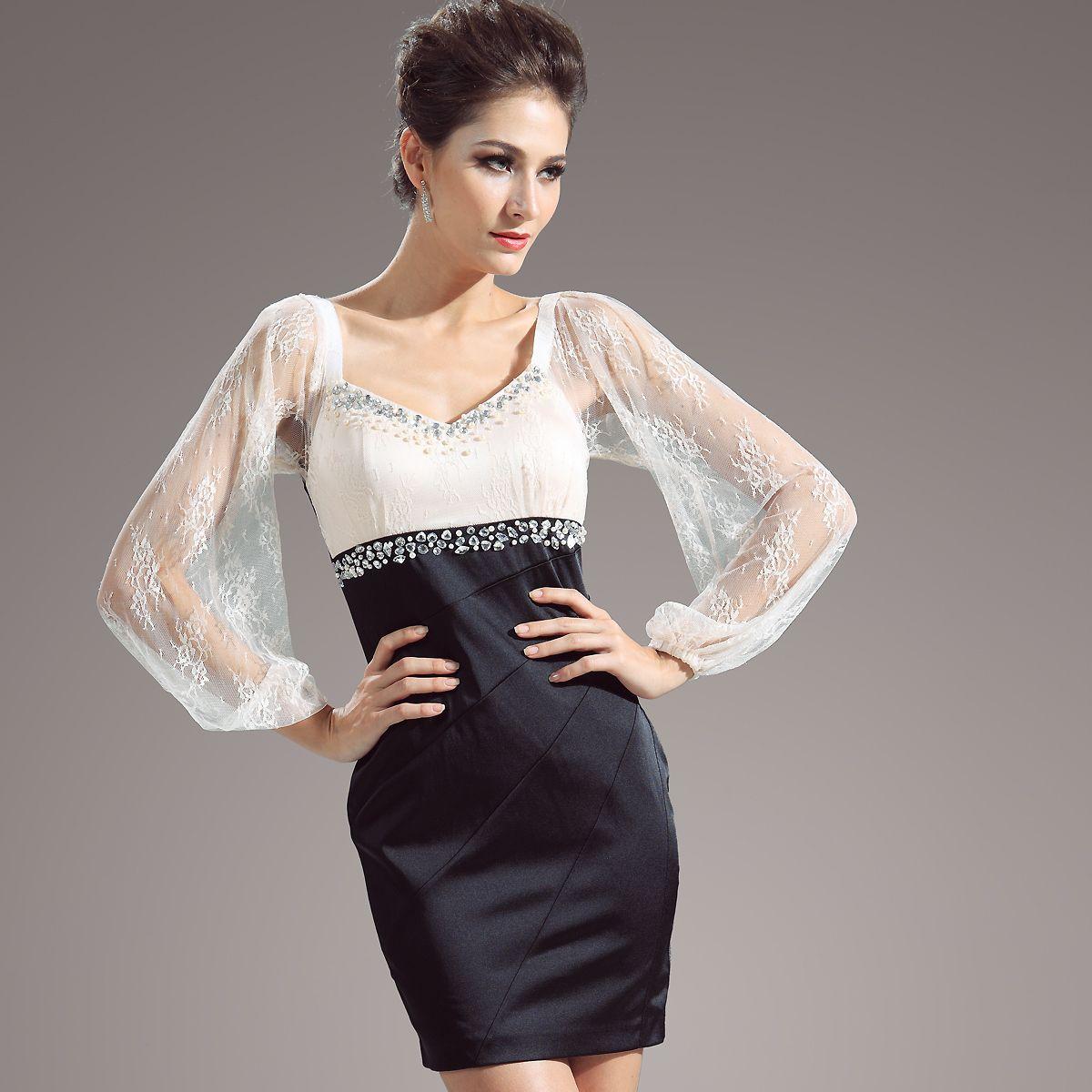 long-black-evening-dresslong-black-sweetheart-satin-evening-dress ...