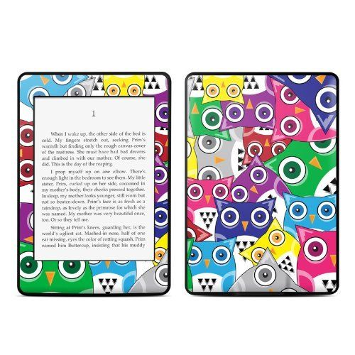 Hoot design protective decal skin sticker for amazon kindle paperwhite ebook reader 2 point