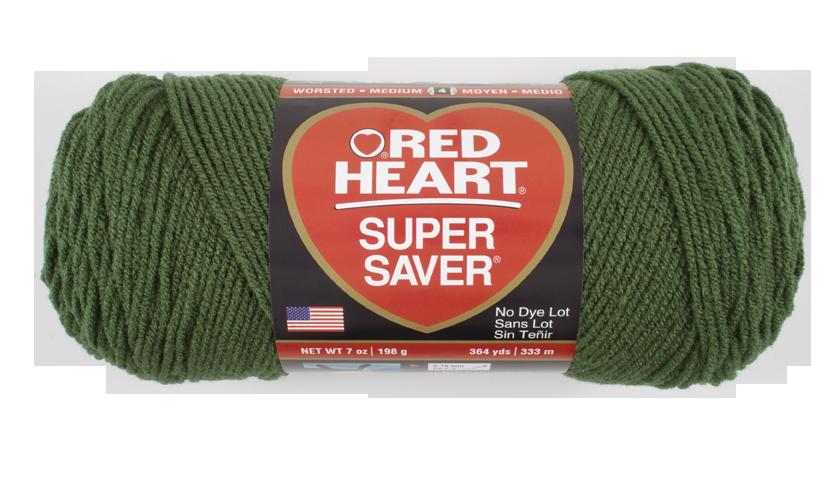 Red Heart Super Saver Yarn 100/% Acrylic 7 oz In Medium Thyme