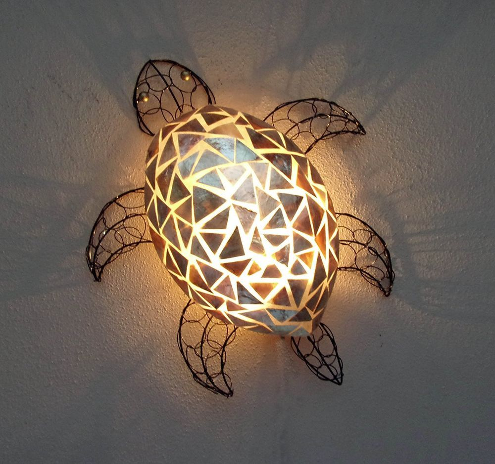 Unusual gold shell turtle wall lamp shade hand made bali lamp unusual gold shell turtle wall lamp shade hand made bali lamp turtle shell lamp mozeypictures Gallery
