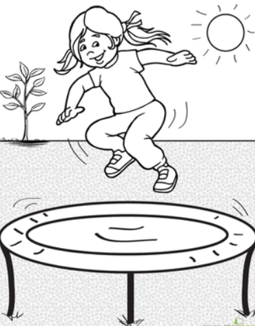 Are You Looking For High Quality Bungee Trampoline For Your Kids Are You Interested In Trampoline Jumping I Am A M Coloriage Lapin Coloriage Coloriage Enfant