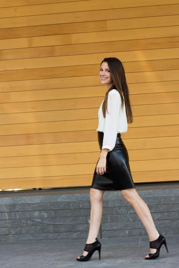 Comment coudre une jupe en cuir | Jupe cuir, Jupe, Jupe
