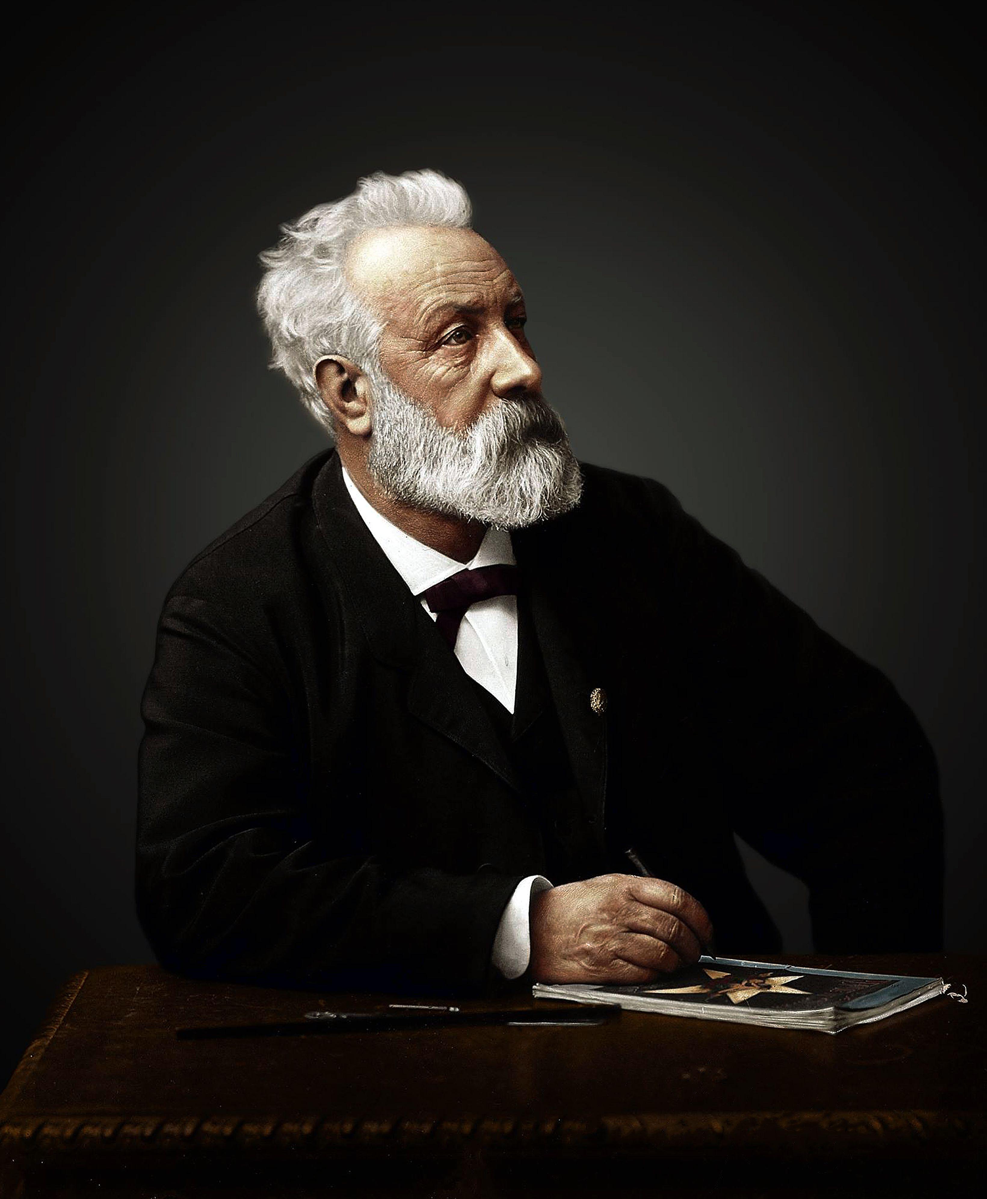 Jules Verne 1890 Schriftsteller Persönlichkeiten Autoren