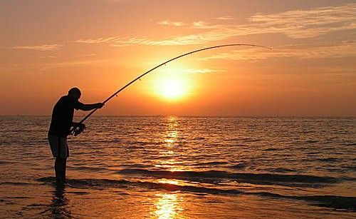 La Pesca Desde Playa Al Atardecer Un Momento Magico Https Clicandfish Com Photo Pesca Paisajes Google Imagenes
