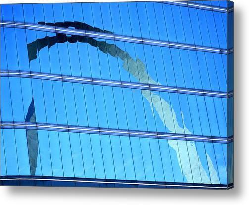 Home    |  irek-szelag.html Reflections Of The St Louis Arch Acrylic Print  Garry McMichael