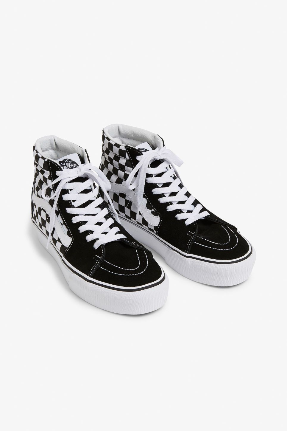 0cbfeaf4119 Vans SK8-HI platform 2.0 - A pair of fab lace-up Vans featuring a high top,  the iconic side stripe, heel cushioning and padded collars for extra  comfort.