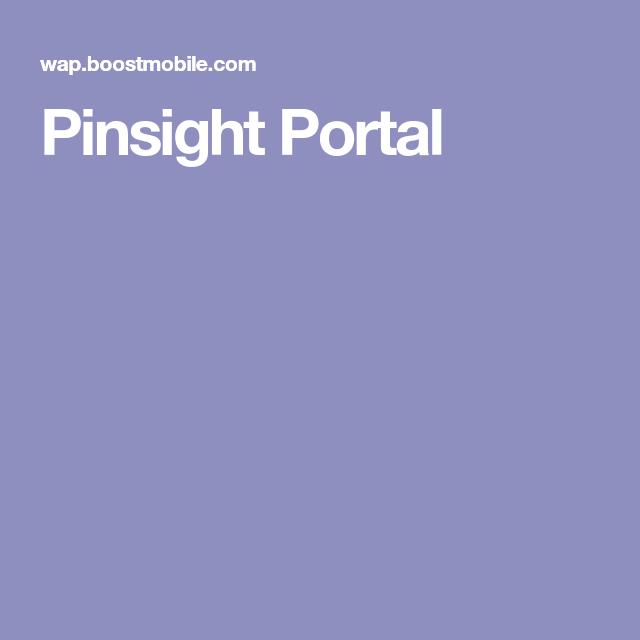 Pinsight Portal Portal