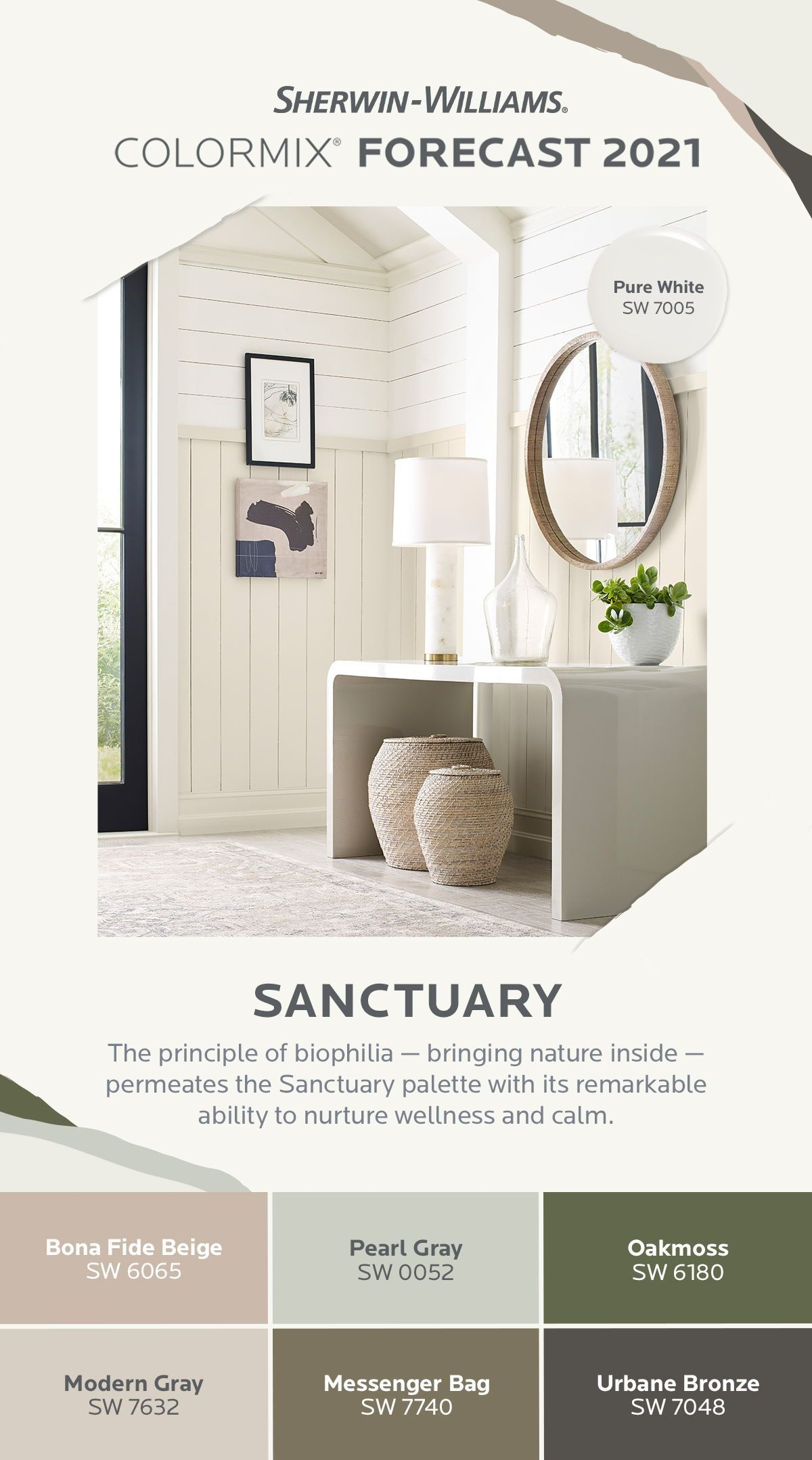 sherwin williams 2021 colormix forecast sanctuary on living room paint ideas 2021 id=43033
