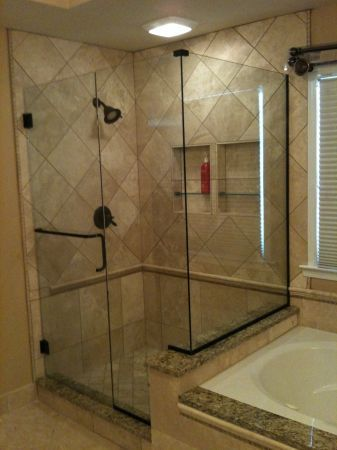 Towel Bar Handle Combo Frameless Shower Doors Towel Bar Shower Doors