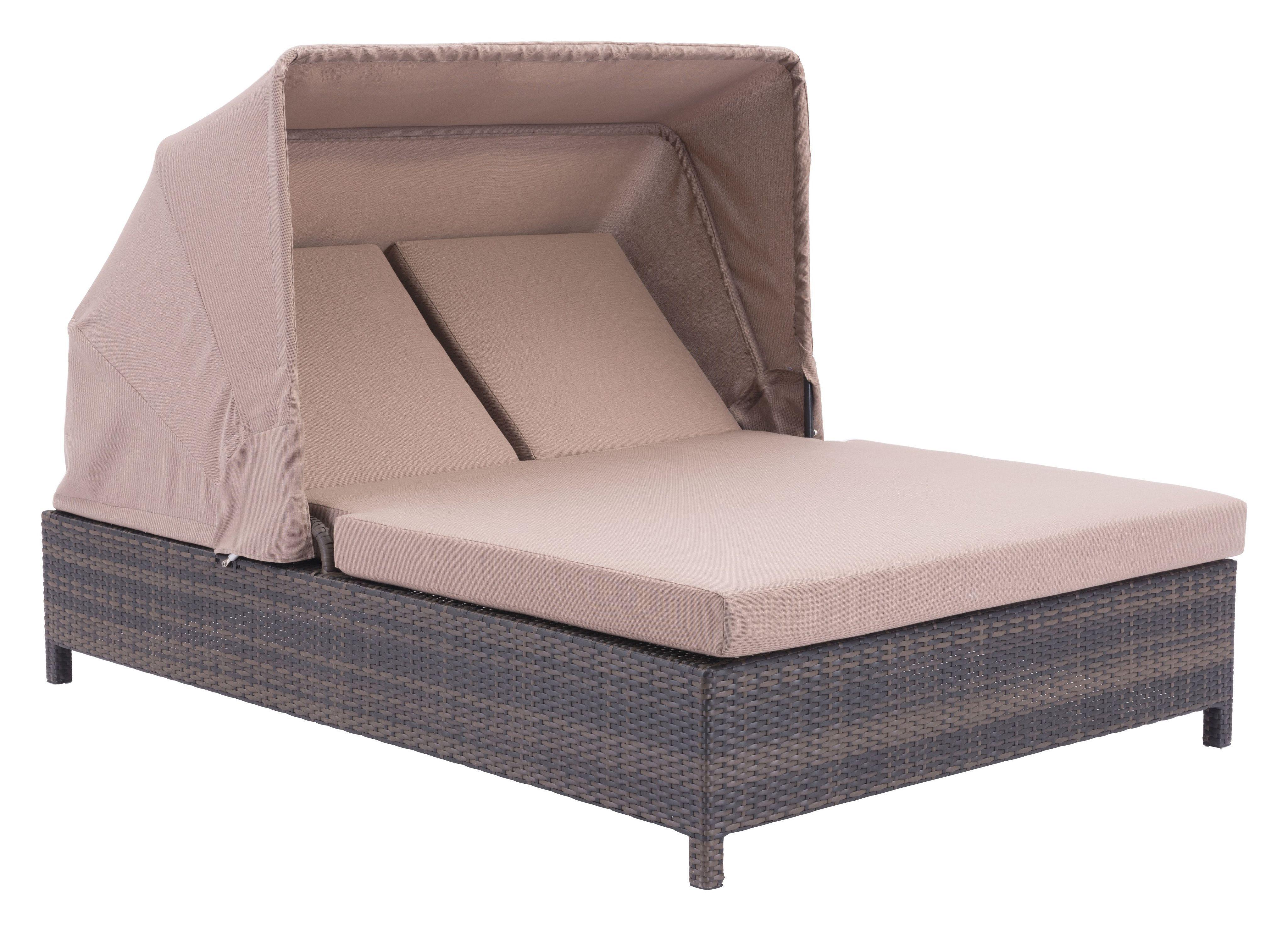 Prime Siesta Key Double Chaise Lounge Brown Beige Furniture Ibusinesslaw Wood Chair Design Ideas Ibusinesslaworg