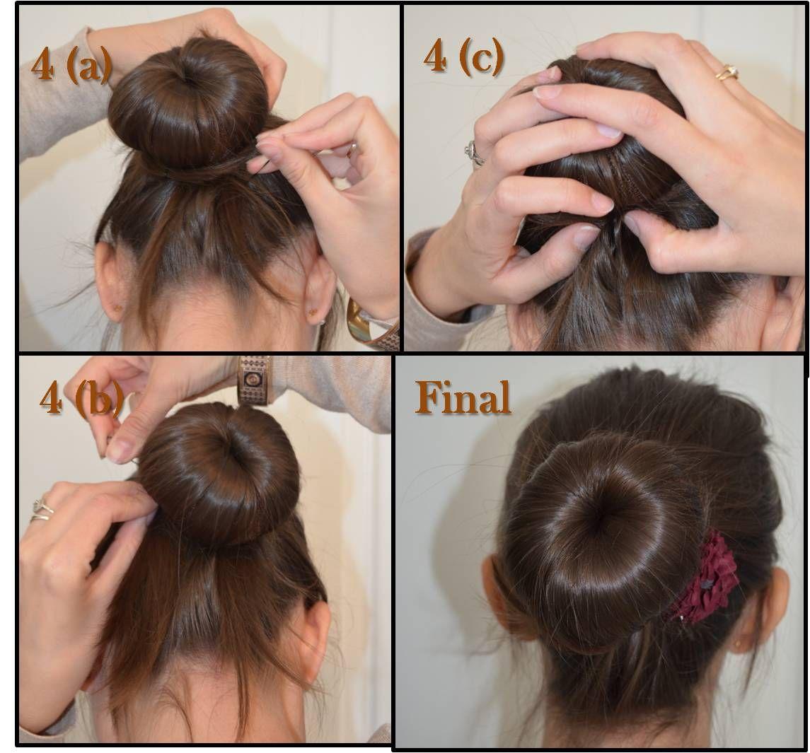 Connu comment mettre donuts cheveux | Coiffures | Pinterest | Cheveux et  GF71