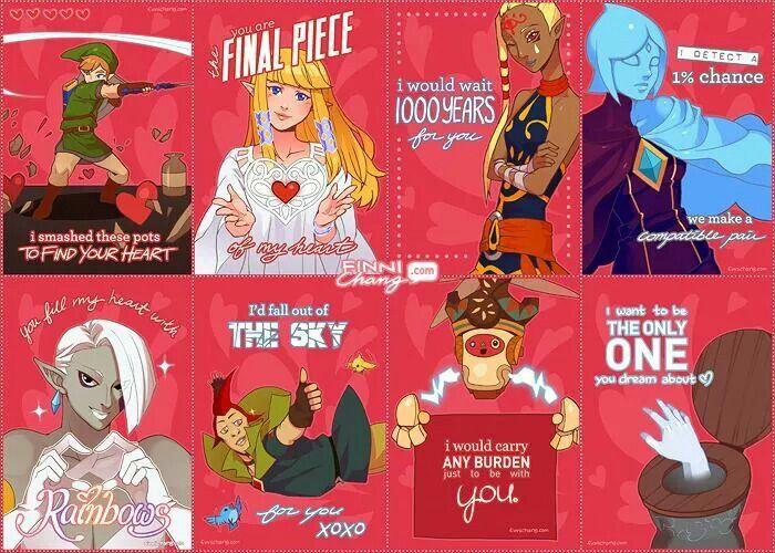 Zelda Valentines Zelda Pinterest Legend Of Zelda Zelda