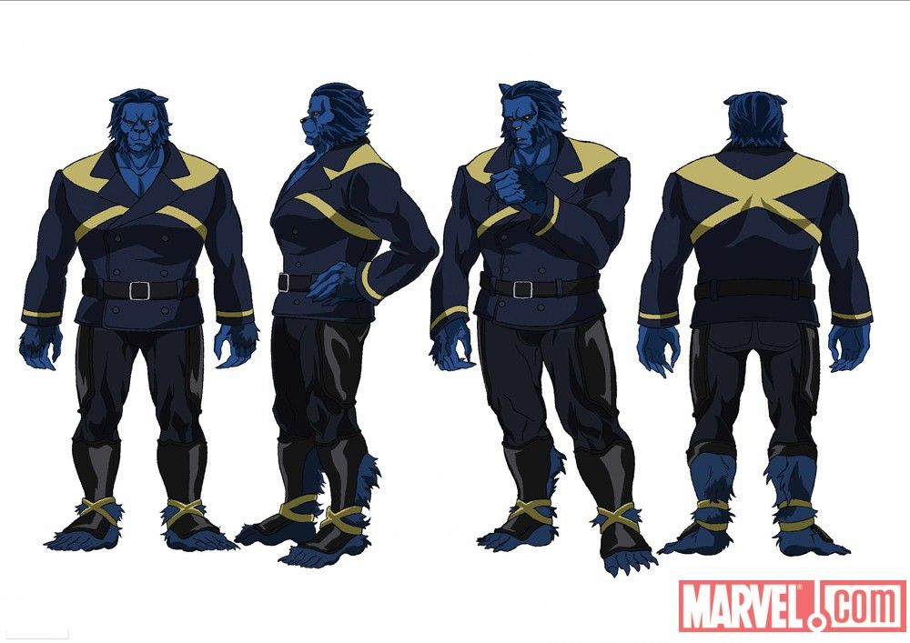 Wolverine And The X Men Characters New Screencaps