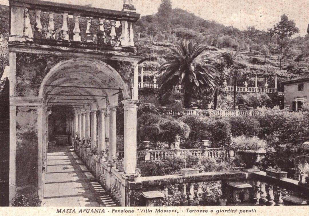Assa In Cartolina Villa Massoni Italie In 2019 Villa