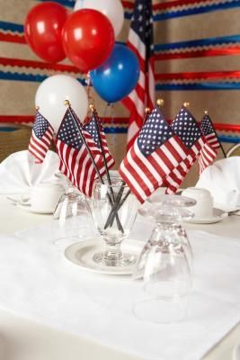 Table Centerpiece Ideas For Veterans Day Ehow Retirement Party Centerpieces Veterans Day Celebration Veterans Day Activities