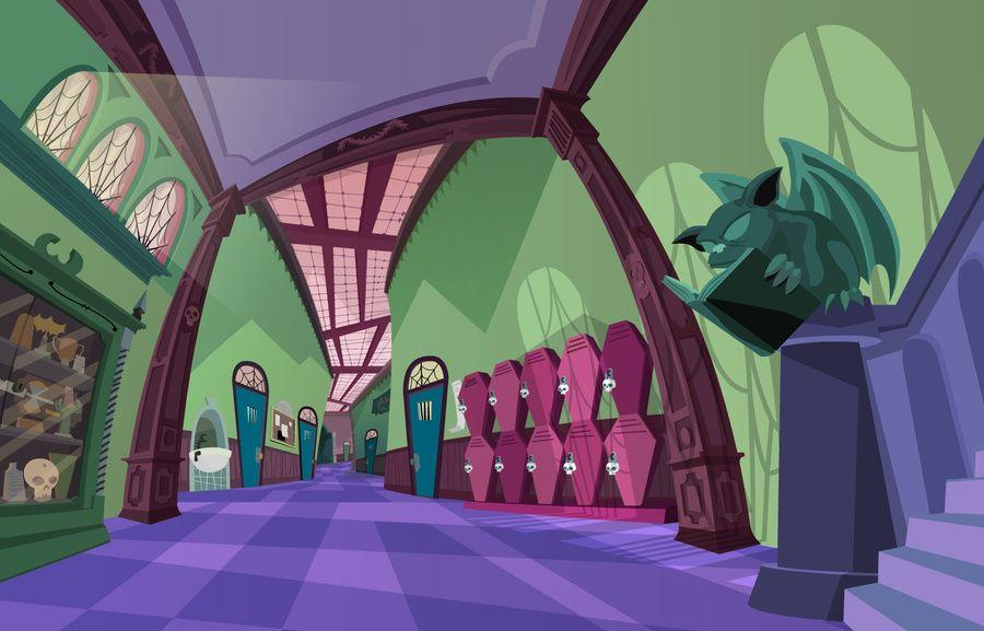 Bradley Gake - Animation Backgrounds