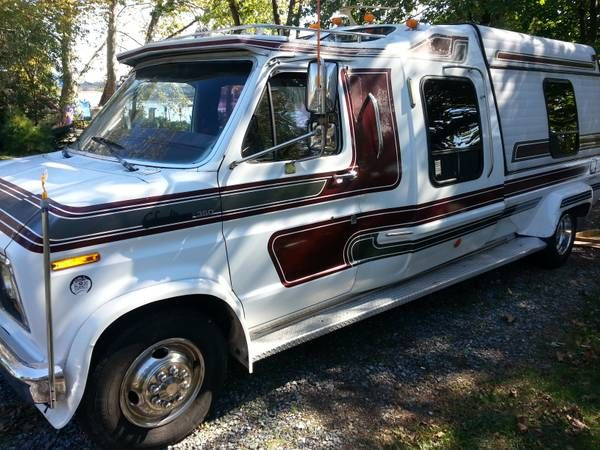 1989 Ford F350 Van Pickup Conversion Trade For Backhoe Loader