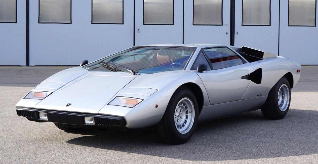 1974 Lamborghini Countach Lp400 Periscopio Classic Driver Market
