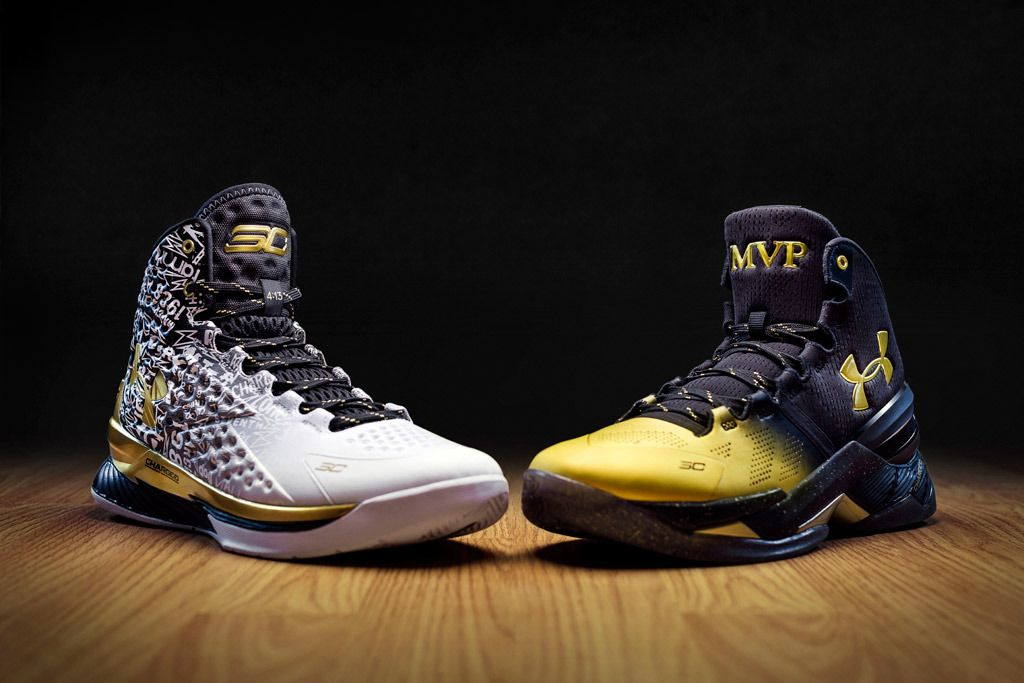 Under Armour Unveils Sneakers For Unanimous NBA MVP Steph Curry