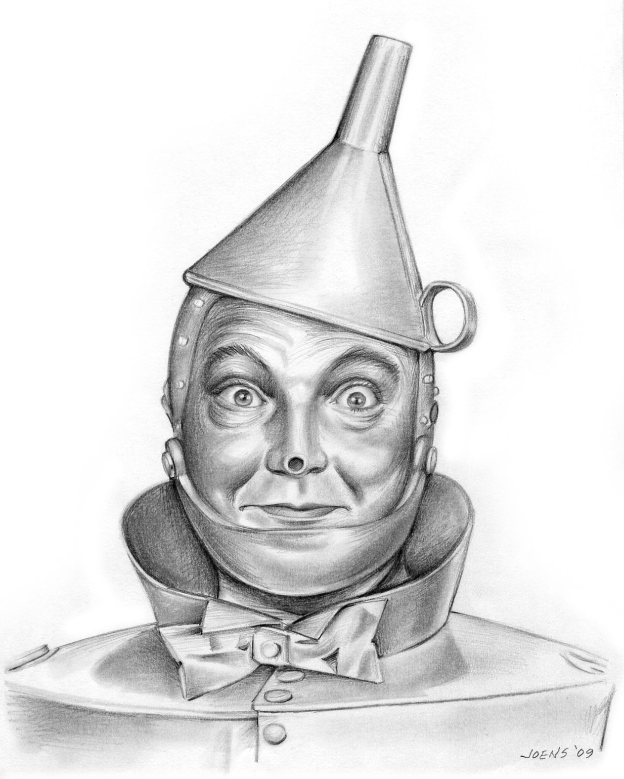 Tin Man Jack Haley The Wizard Of Oz C 1939