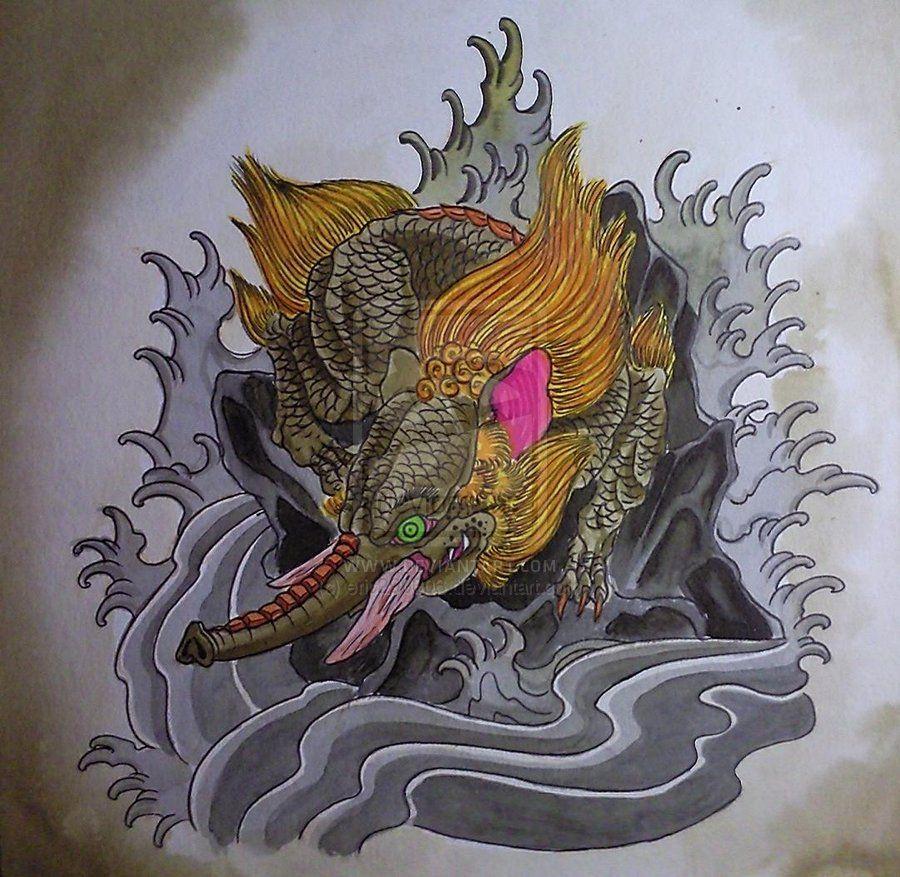 Pin By 丽江刺青工作室微信15999955381 On 麒麟 Kylin Tattoo