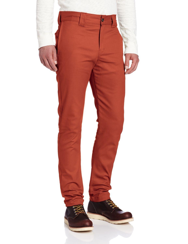 Dickies mens flex slim skinny fit twill work pants grey