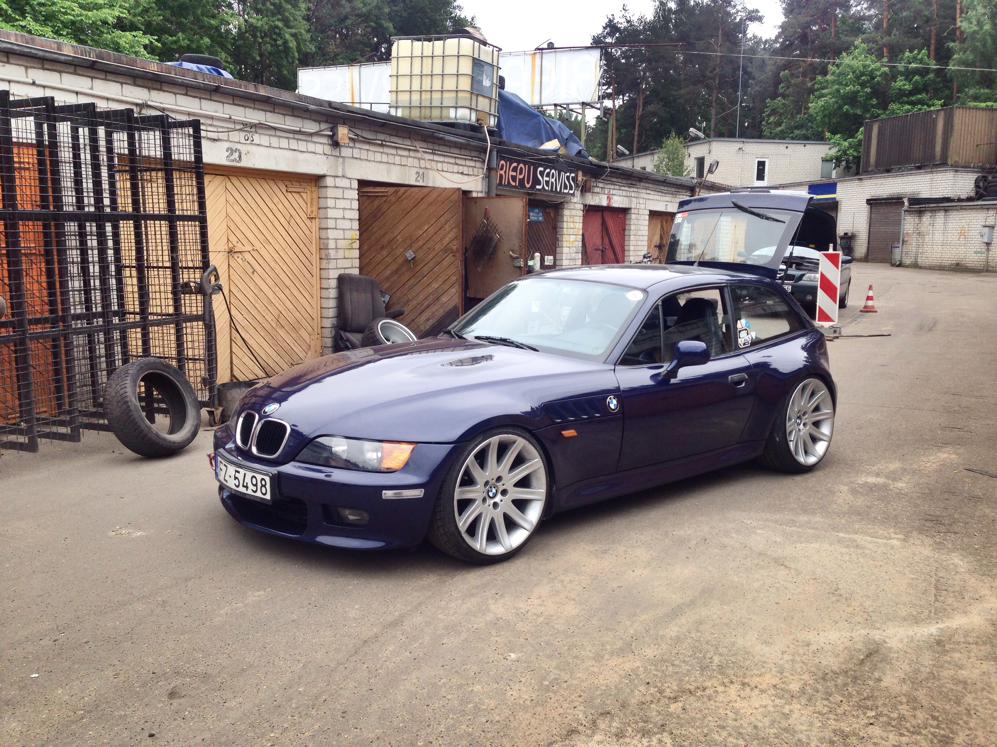 Bmw Z3 Coupe On Style 95 Wheels Diy Amp Crafts Pinterest Coupe Wheels And Style