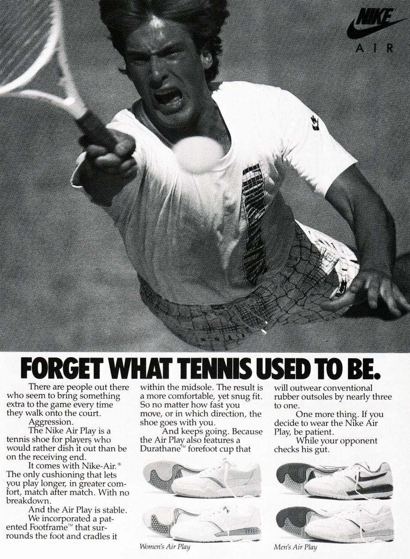 Nike Tennis Nike Ad Vintage Nike Nike Poster