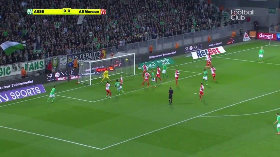 Moustapha Sall (Saint-Etienne) goal against Monaco (1-0)