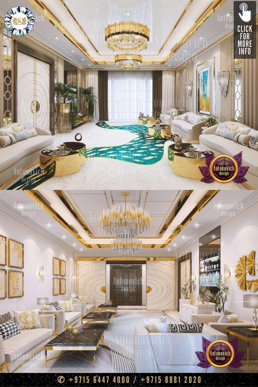 Classical Living Room Decoration Unique Living Room Design تصميم غرفة جلوس فريد Luxury Living Room Luxury Living Room Design Interior Design Dubai