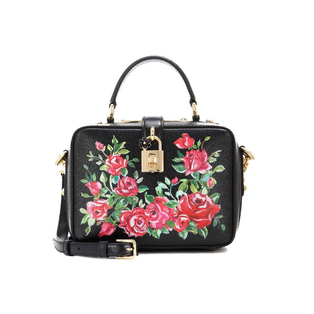 Bolso con estampado floral, de Dolce & Gabbana (1.850 euros).