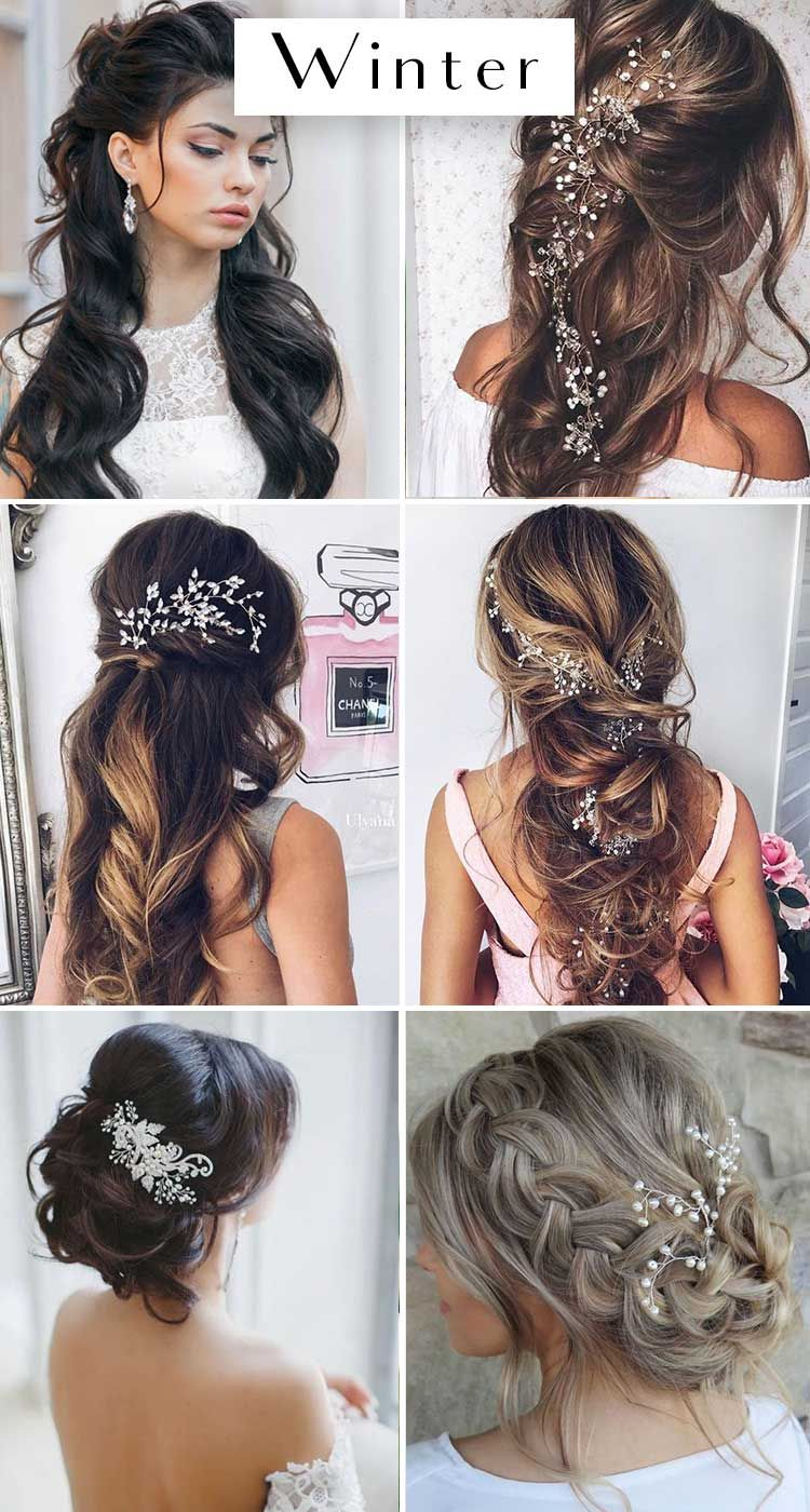 The Best Wedding Hairstyles For Each Season