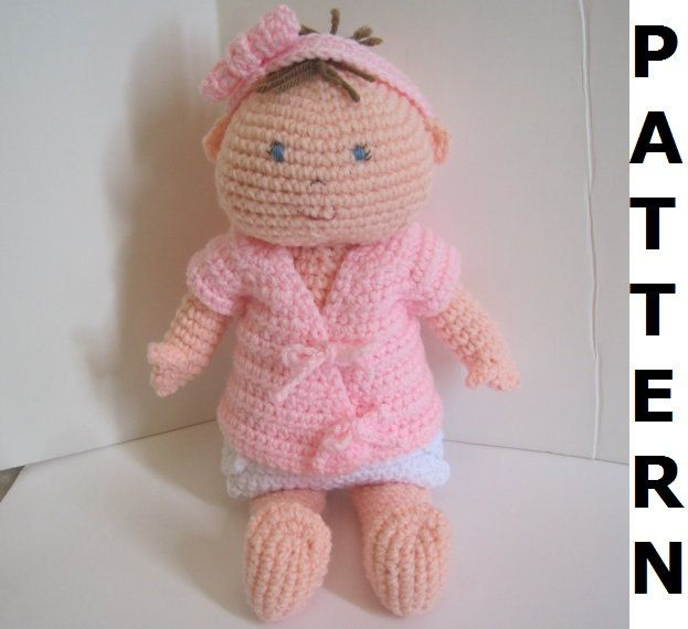 Baby Doll Crochet Pattern finished items by CrochetNPlayDesigns | <3 ...