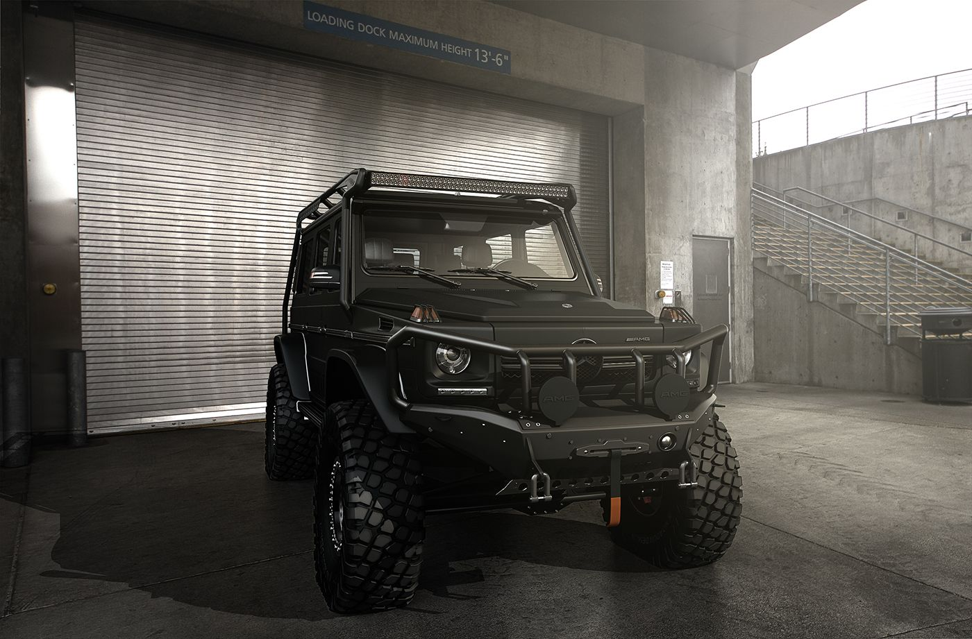 This Mercedes G Class Wouldn T Look Out Of Place In Batcave