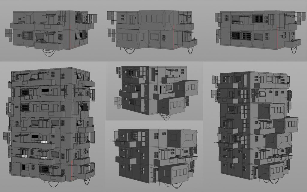 Realistic Procedural Architecture For Games Model Paint Game