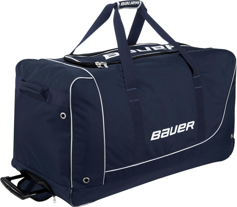 Bauer Core Wheel Bag Senior Pure Hockey Equipment Hockey Equipment Bags Hockey Bag