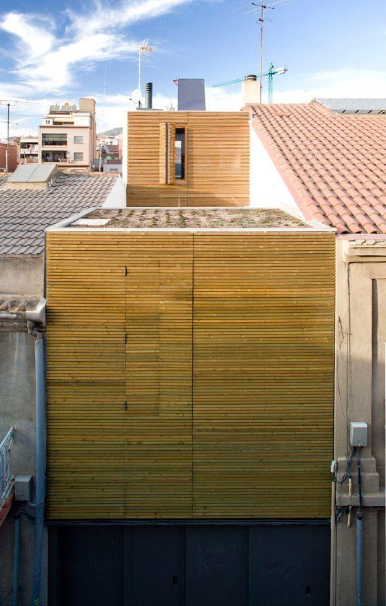 casa entre mitgeres barcelona