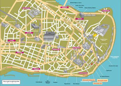 Istanbul Turkey Istanbul Map Istanbul Tourist Map Tourist Map