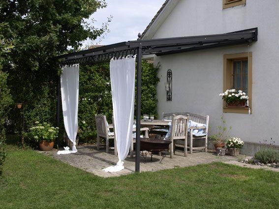 Terrassendach Aus Stahl Pergola Pinterest Terrasse Garten And