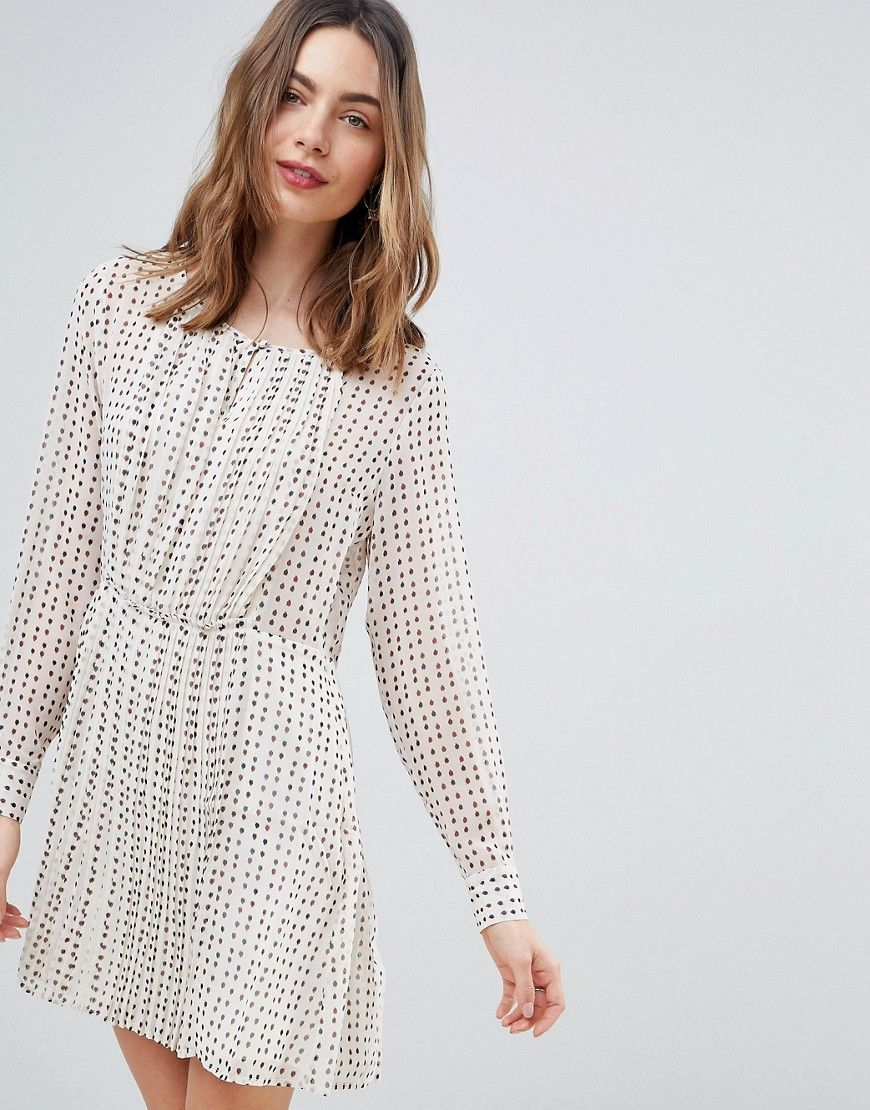 Deby Debo Jane Printed Smock Dress - White  ModeSens  Smok